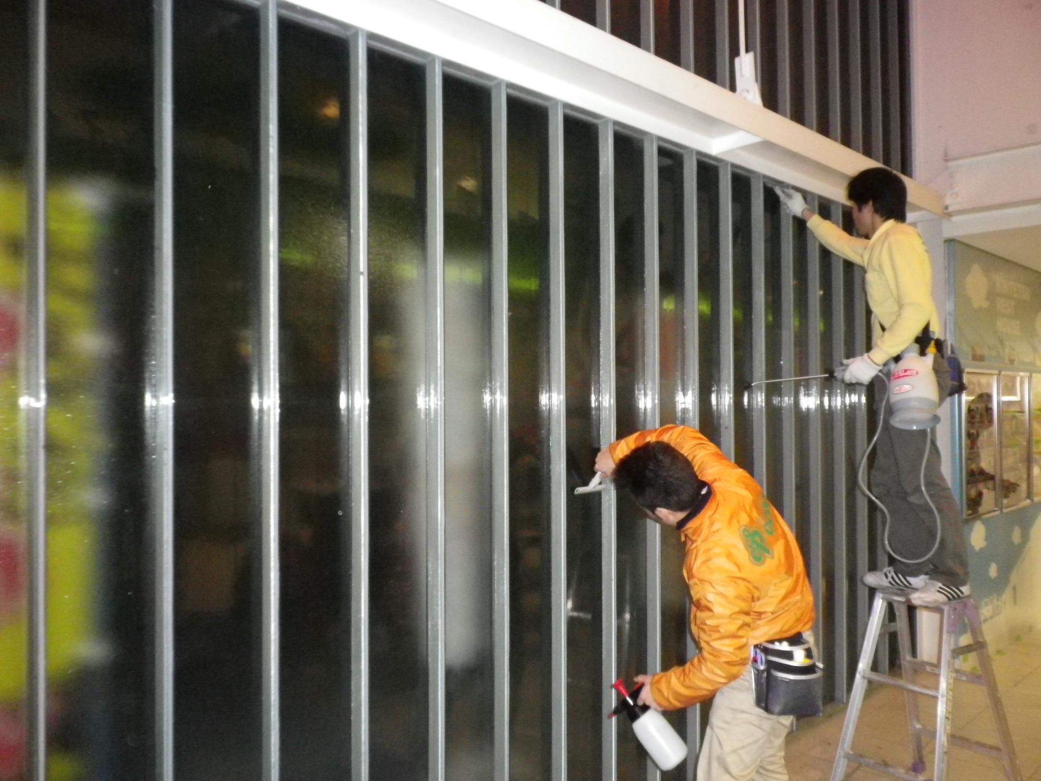 窓ガラスコーティング施工実績